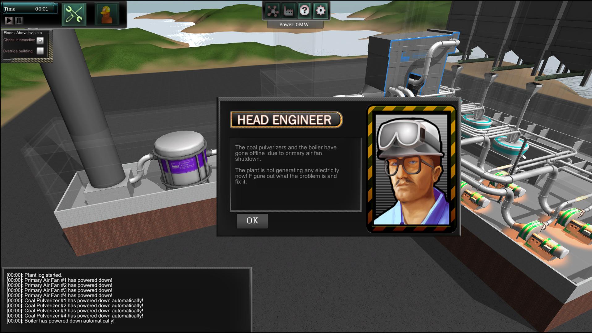 IndustrySim Game Screenshot
